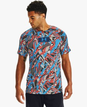 Men's UA All Over CF Logo Short Sleeve